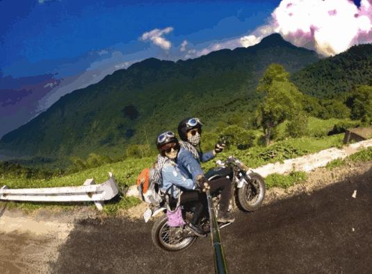 Bạn sẽ có những trải nghiệm đầy thú vị khi đi bằng xe máy